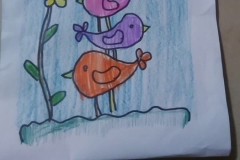 Art craft activity of - Pre - Primary