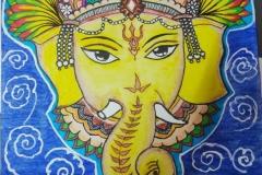 Mahalakshmi-PillaiClass-9-CT-maiden-attempt-in-Mural-Art