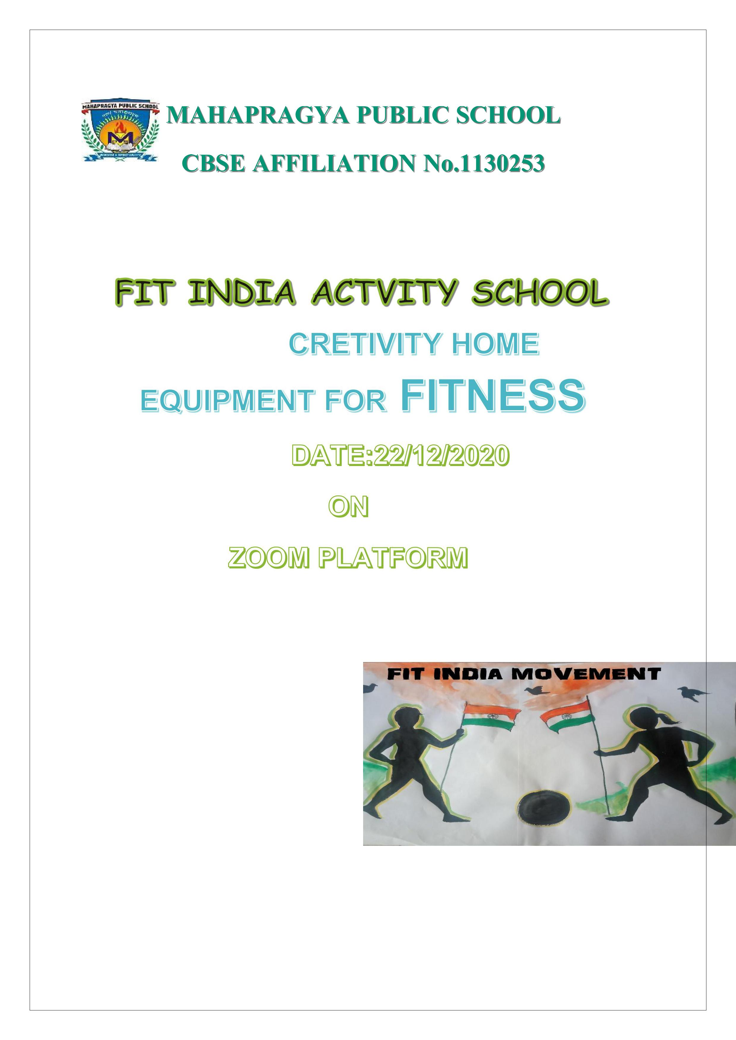 Virtual fit India – Equipment for Fitness